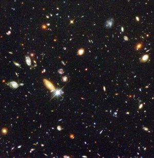 Hubble's Deepest View of the Universe Unveils Bewildering Galaxies across Billions of Years image