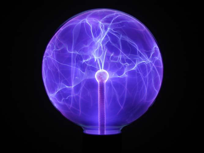 large electric plasma nebula ball - photo #42