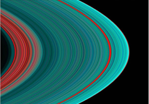 Saturn's A Ring image
