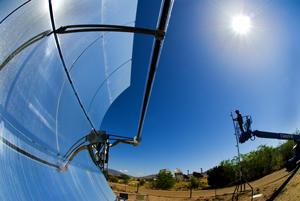 Parabolic Trough Solar Collector image