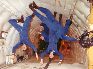 Reduced Gravity:  Vomit Comet Blog image
